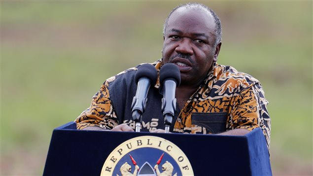 Le président gabonais Ali Bongo