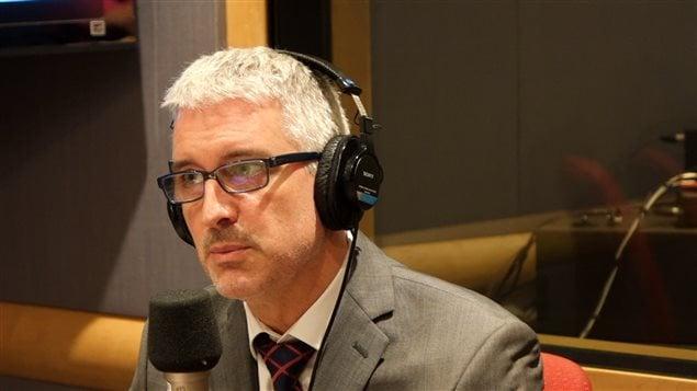Jean-Martin Aussant, directeur général du Chantier de l'économie sociale