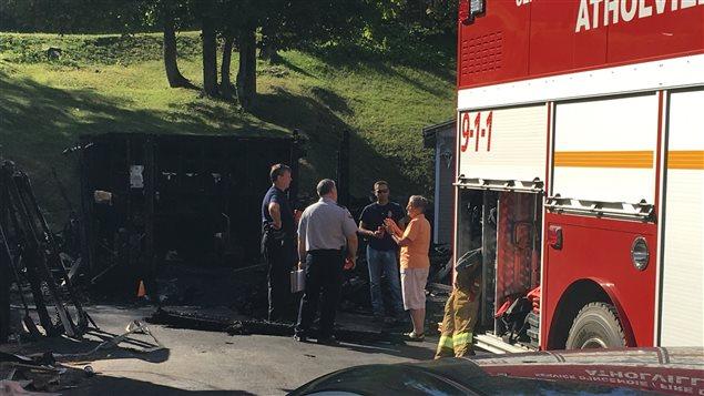 Un homme tué dans l'explosion d'un cabanon à Atholville, au N.-B. - ICI.Radio-Canada.ca