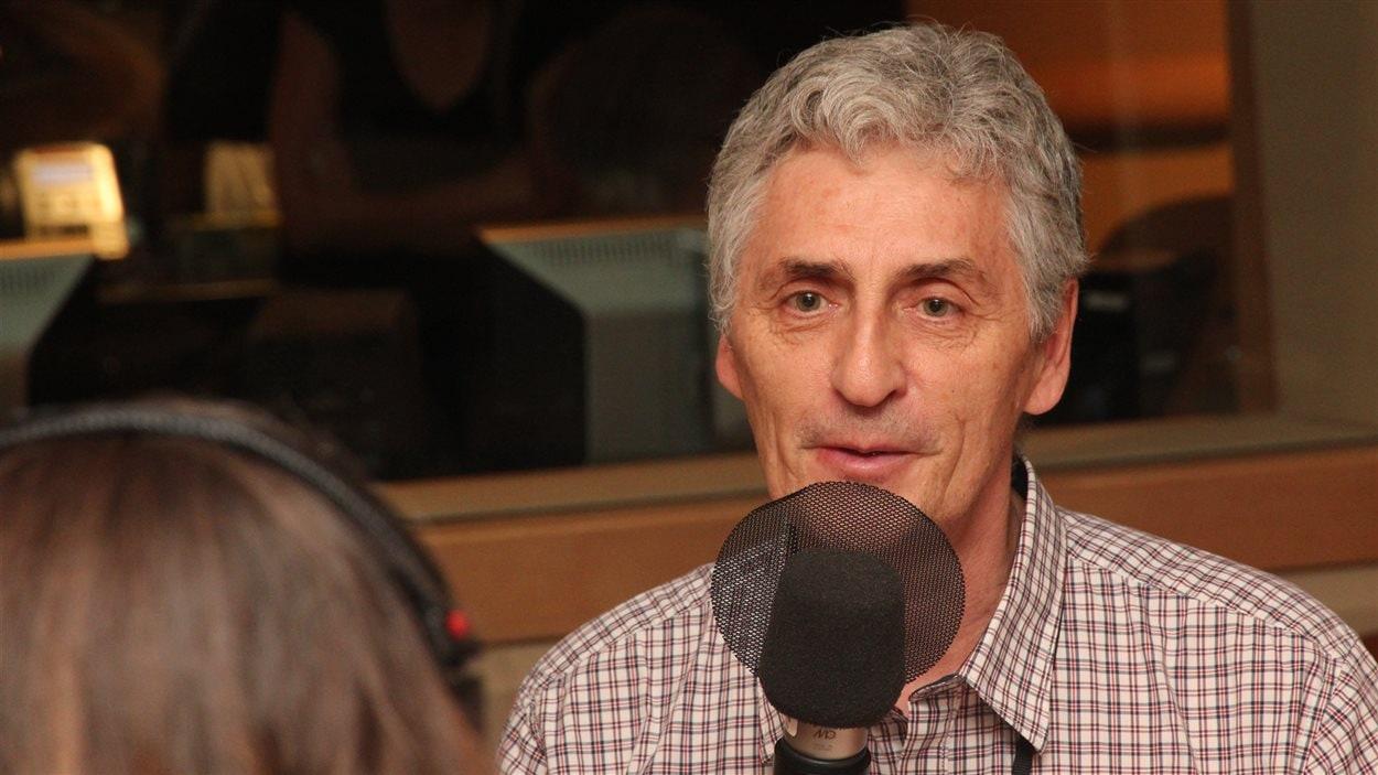 Le dramaturge et auteur Larry Tremblay