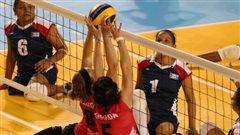 Les volleyeuses canadiennes dominées par les Brésiliennes