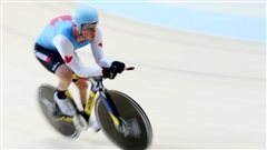 Deux Canadiens en finale en paracyclisme sur piste