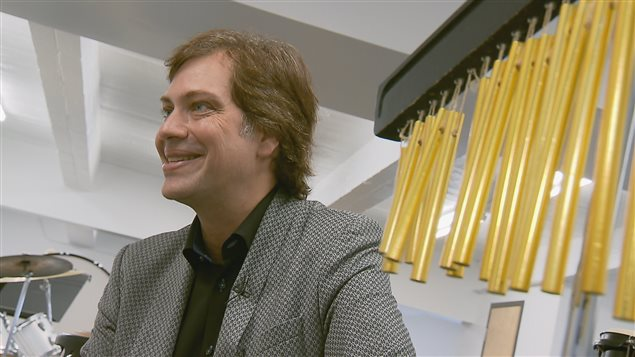 Le pianiste Steve Barakatt a conseillé le collège dans son projet de Centre d'enseignement et de production musicale.