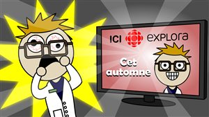 Les aventures du Pharmachien seront présentées cet automne sur ICI Explora.