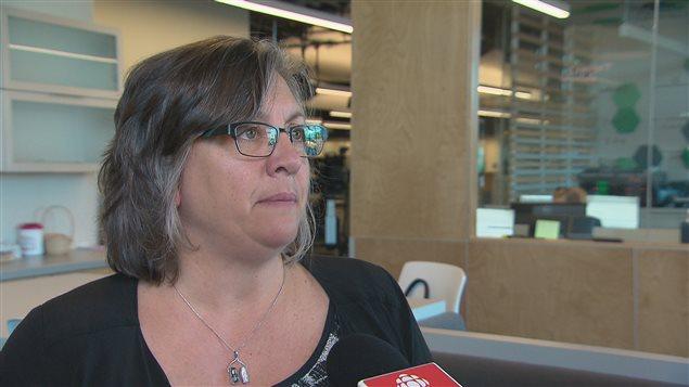 Chantal Varin, directrice générale de l'Association francophone des parents du N.-B.