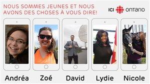 5 jeunes francophones de moins de 25 ans parle de leur identité