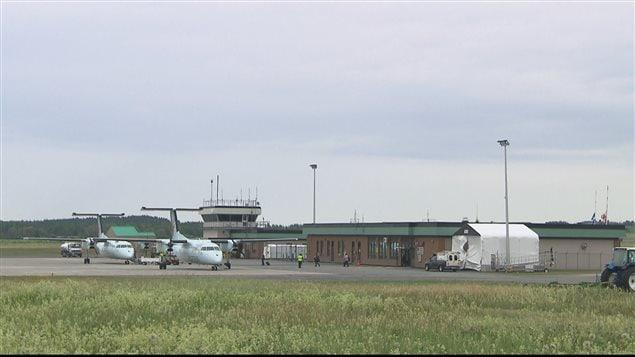 L'aéroport de Mont-Joli