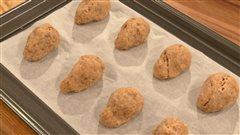 Biscuits au poulet pour chiens