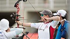Le parcours de l'archère Karen Van Nest s'arrête en huitièmes de finale