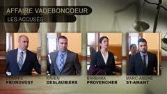 Jour 8 du procès des quatre policiers à Trois-Rivières:un enquêteur témoigne