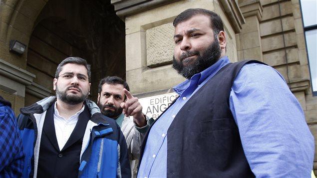 Abdullah Almalki, Muayyed Nureddin et Ahmad Elmaati en 2008