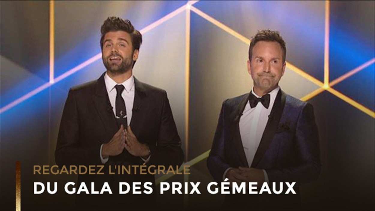 Le Gala des prix Gémeaux