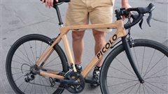 Des vélos faits en bois de frêne