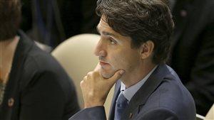 Le premier ministre Justin Trudeau au siège des Nations unies à New York