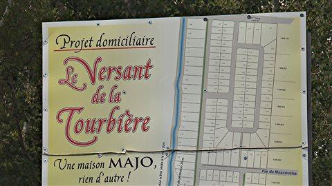 Le projet immobilier «Le Versant de la Tourbière» ne verra jamais le jour.