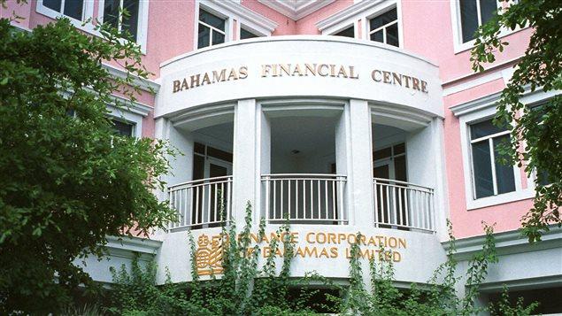 Une filiale de la Banque Royale est située au centre de la finance des Bahamas, à Nassau