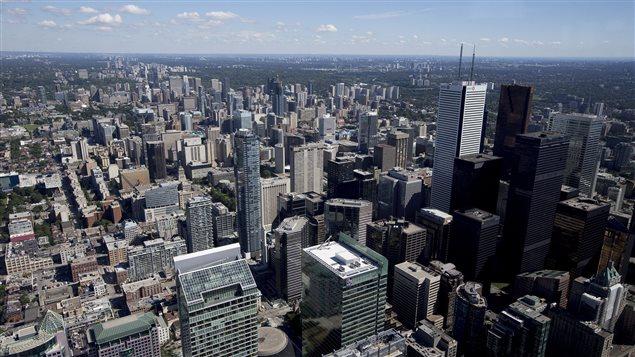 Le quartier des affaires de Toronto