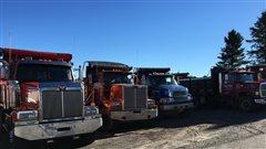 Des camionneurs forcés de mentir sur leurs heures de conduite