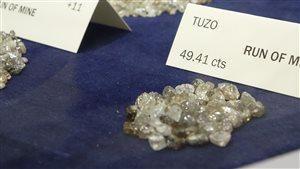 Les premiers diamants de la mine Gahcho Kué ont été extraits le 30 juin 2016.