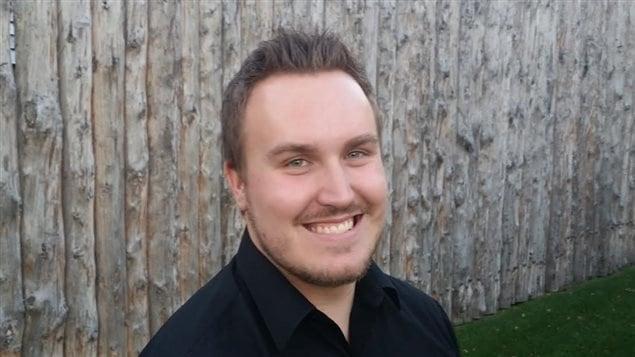 Derrek Bentley, nouveau président du Conseil jeunesse provincial du Manitoba