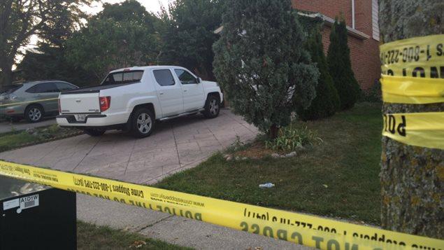 La victime a été abattue dans cette demeure à Woodbridge.