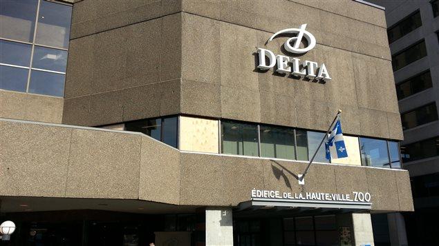 Une entente de principe est intervenue à l'hôtel Delta de Québec.