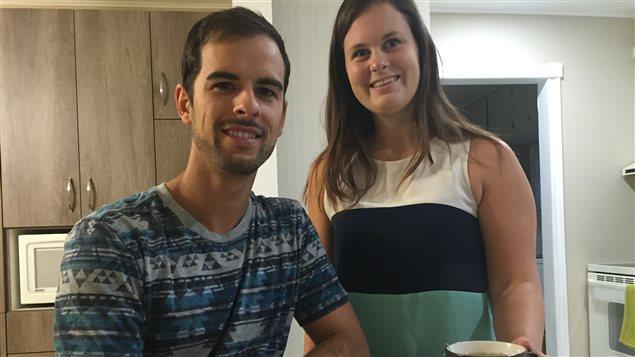 Mathieu Chartrand et Anastacia Brunelle viennent de démarrer Te.