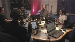 Trois cinéastes de Trois-Rivières qui participent au long week-end du cort.