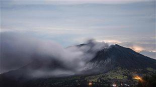 Le volcan Turrialba