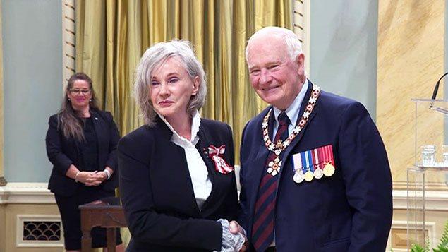 Diane Dufresne et le gouverneur général