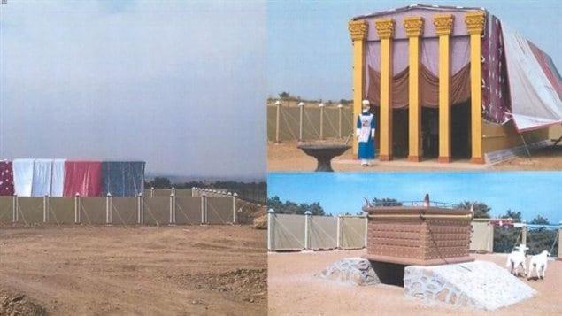 Le parc thématique de la Bible à Moose Jaw, en Saskatchewan, pourrait inclure des structures de grande taille.