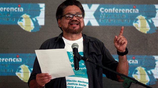 Ivan Marquez, chef des FARC