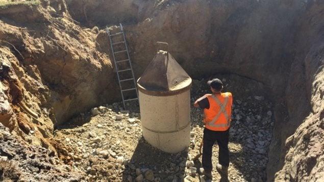 Certains Néo-Écossais ont dû faire creuser un nouveau puits plus profond cet été en raison de la sécheresse.