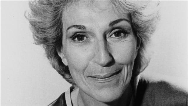 Janine Sutto en 1982.