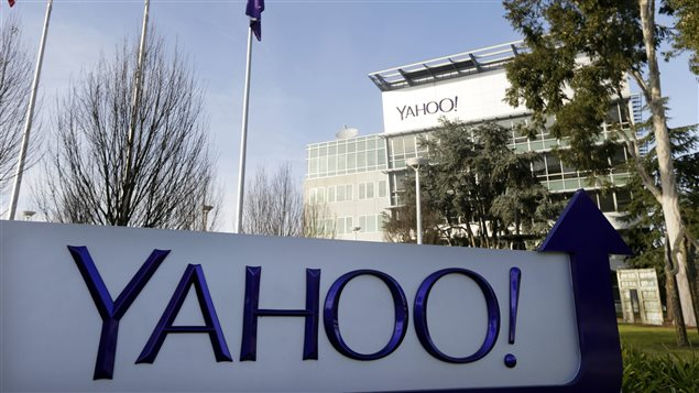 Le siège social de Yahoo à Sunnyvale, en Californie, en janvier 2015
