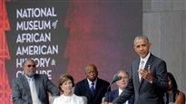 Barack Obama a inauguré le nouveau musée national qui présente à Washington l'histoire des Afro-américains.