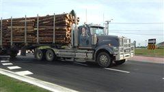 Un mort après une collision impliquant un camion chargé de billots de bois