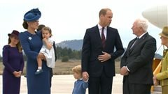 Le Prince William et Kate Middleton entament leur visite au Canada