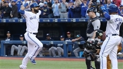 Jose Bautista se charge des Yankees