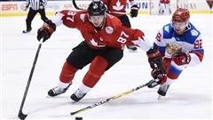 Crosby crée l'avance 1-0 contre les Russes