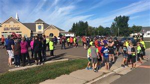 Plus de 150 personnes ont pris part à la course Yvon LeBlanc à Saint-Antoine de Kent samedi