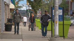 La rue St-George à Moncton