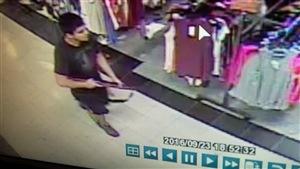 Le suspect a été arrêté près de 24 heures après avoir été filmé par ces caméras de surveillance.