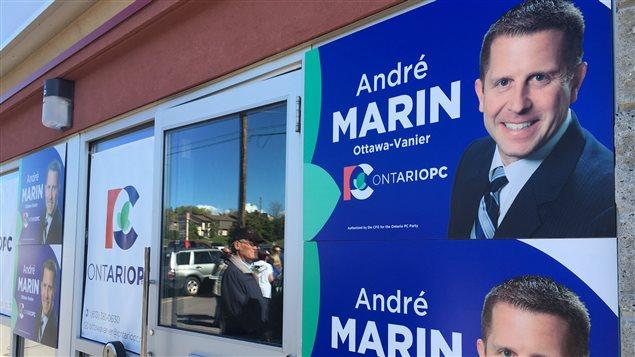 L'ancien ombudsman de l'Ontario, André Marin, est maintenant candidat pour le Parti progressiste-conservateur de l'Ontario.