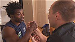 De Trois-Rivières, il s'envole pour la Bulgarie pour les championnats du monde detir au poignet