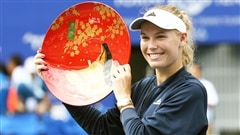 Wozniacki championne à Tokyo