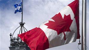 Sur les 500 attitudes et comportements présentés dans les sondages, 71 % étaient identiques entre les Québécois et les Canadiens.