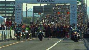 Plus de 35 000 personnes ont participé au 26e Marathon de Montréal.