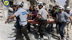 Les médecins des hôpitaux de la ville d'Alep sont débordés