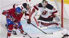 Le Canadien s'incline contre les Devils